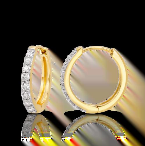 Single Line Huggie Earring