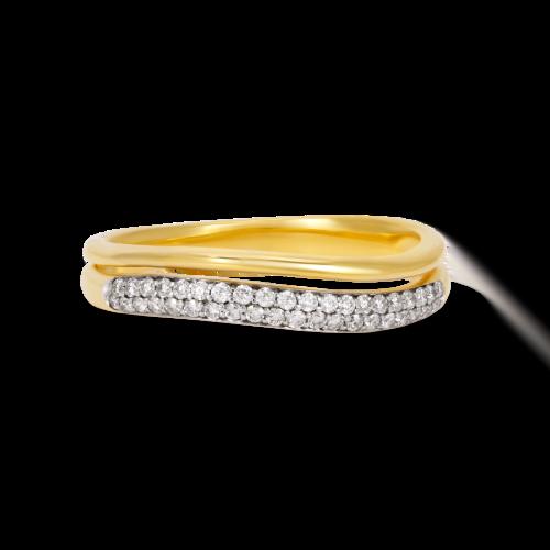 Curvy Engagement Ring