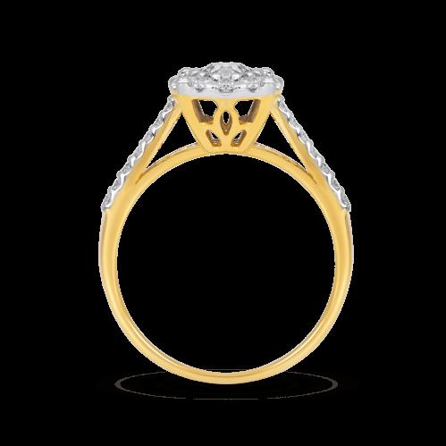 Round Illusion Ring
