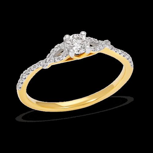 Swirl Promise Ring
