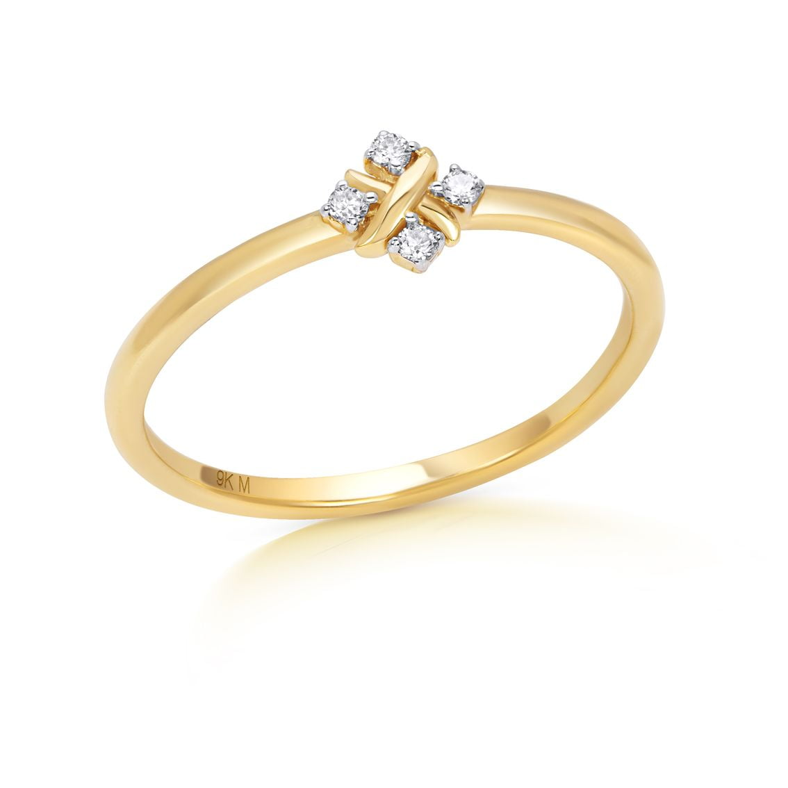 Four Diamond Engagement Ring