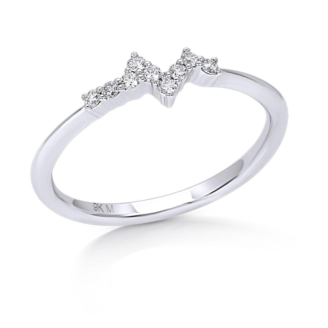V Shape Stackable Ring
