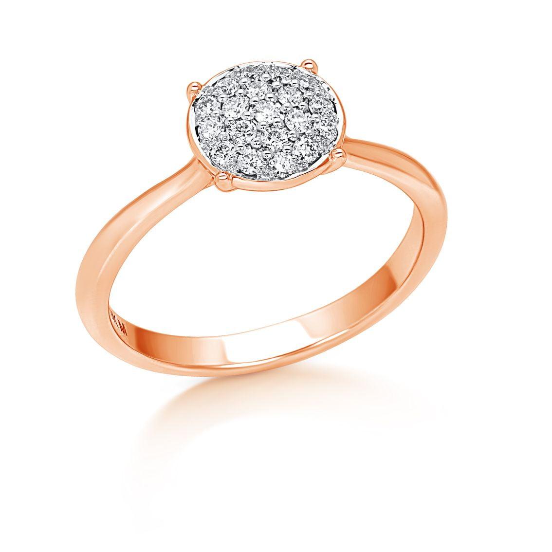 Diamond Basket Ring