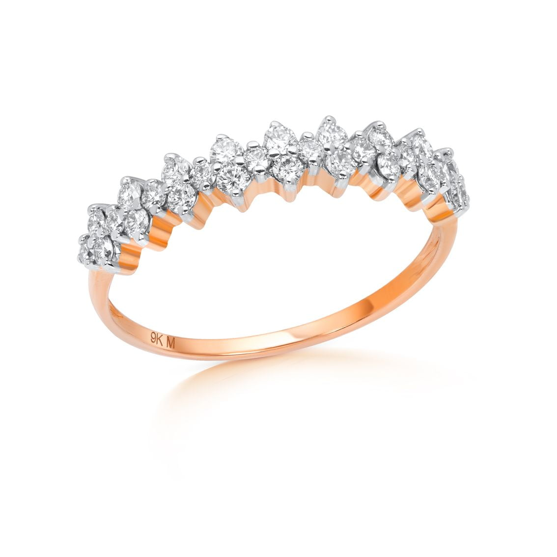 Cluster Anniversary Ring-1
