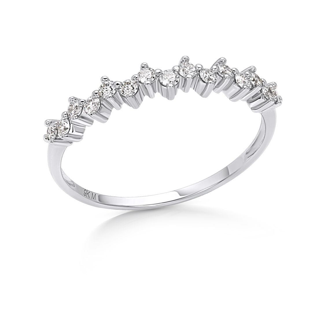 Cluster Anniversary Ring-2